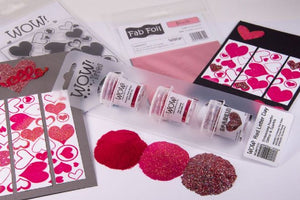 WOW Embossing Powder Trio Red Letter Day
