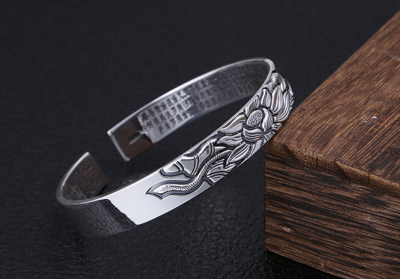 BANGLE BRACELET LOTUS - Zensitize | Official Store