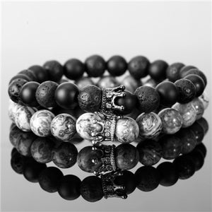 BRACELET KINGS & QUEENS (2pcs/set) - Zensitize | Official Store