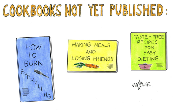 Cookbooks Not Yet
