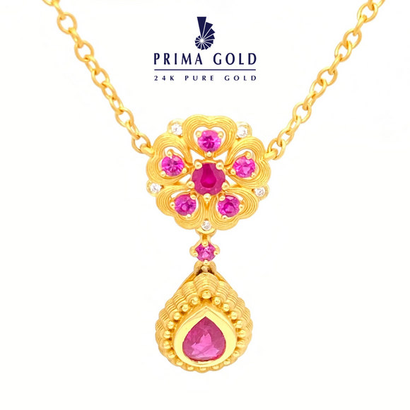 Prima Gold Necklace 165N0383-01