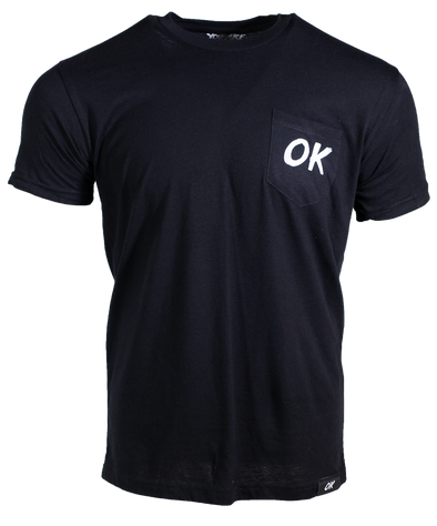 OK Short Pocket Tee - Black