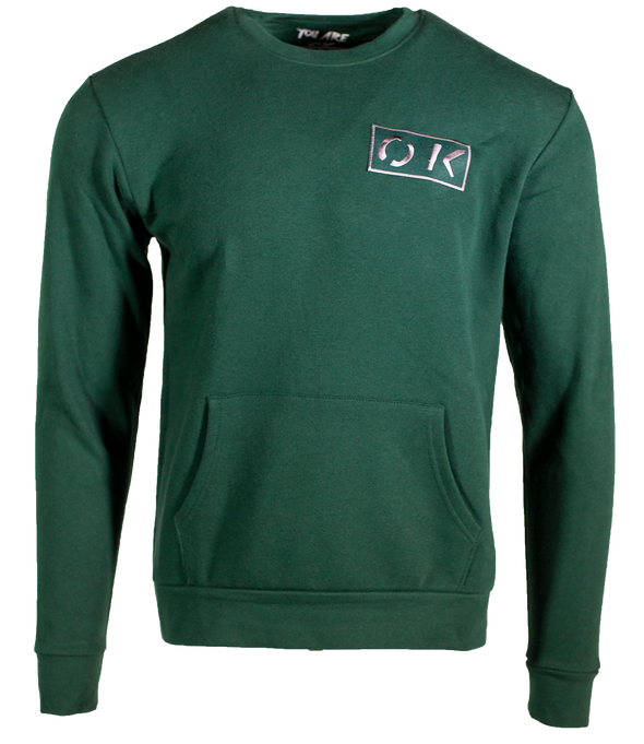 OK Sweatshirt - Forest Green
