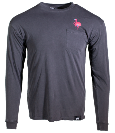 Flamingo Long Sleeve - Shadow
