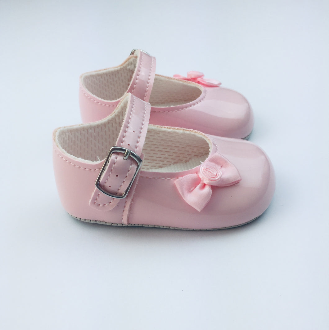 Pram Shoe - Pretty in Pink