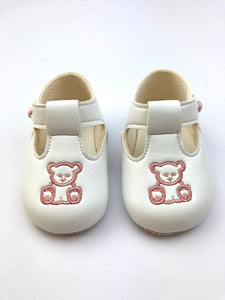 Pram Shoe - Teddy Bear