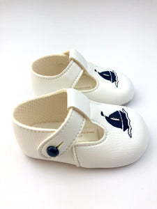 Pram Shoe - Sailboat