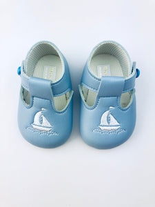 Pram Shoe - Sailboat Sky