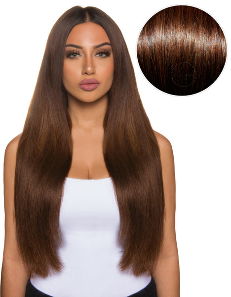 Bellissima 220g 22 Chocolate Brown 4 By Clip In Hair