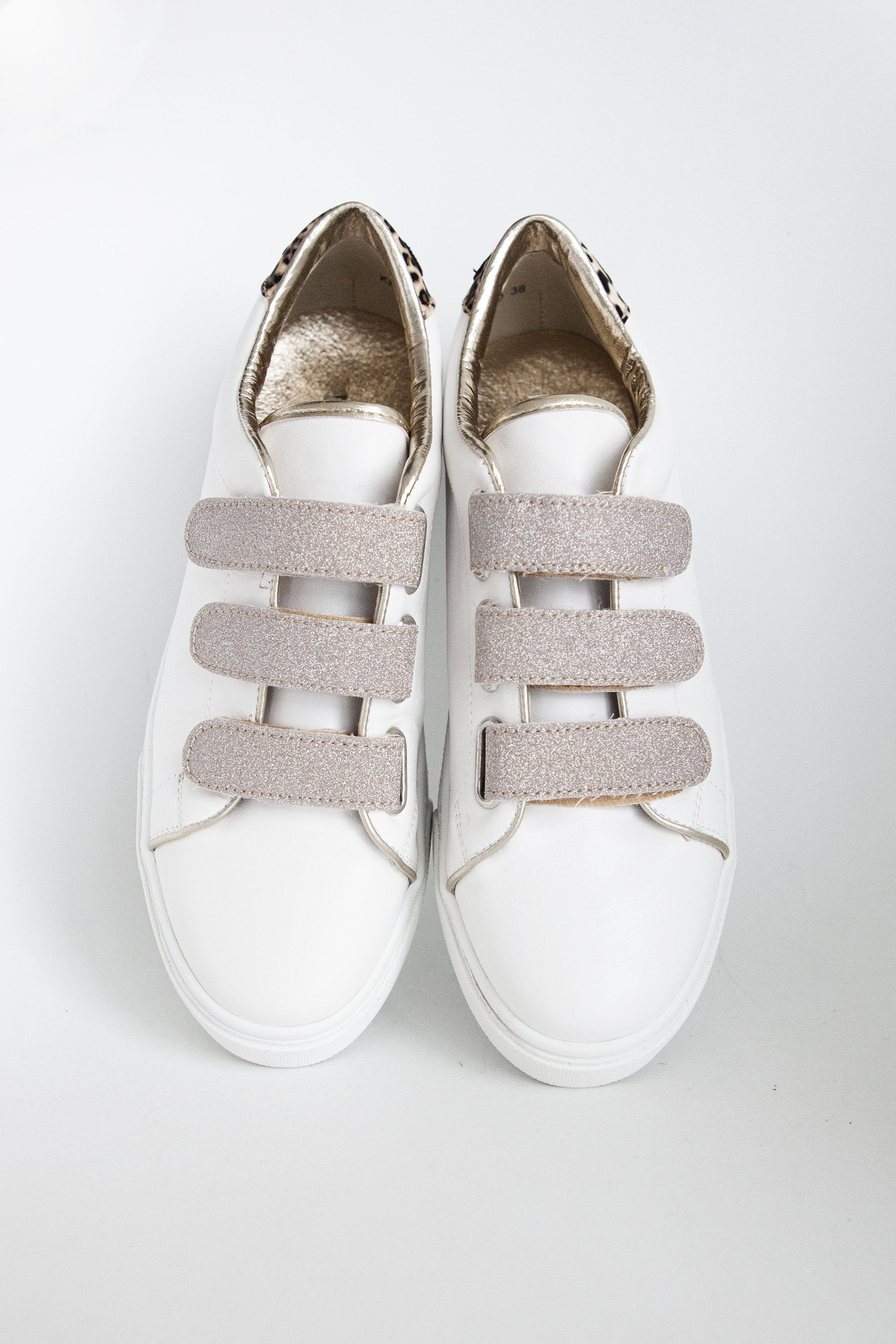 Twinkle Toes White/Pink - Sneakers