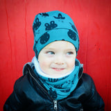 Hat and Snood Set
