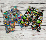 Reversible wrap jackets