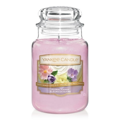 YANKEE CANDLE : Floral Candy - Large jar