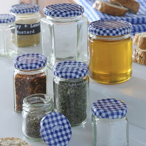 Kilner : Hexagonal twist top jar (48ml)