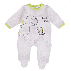 BABYBOL : Little dude dino babygrow