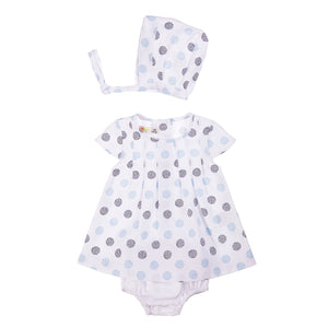 BABYBOL : Dots and Spots dress