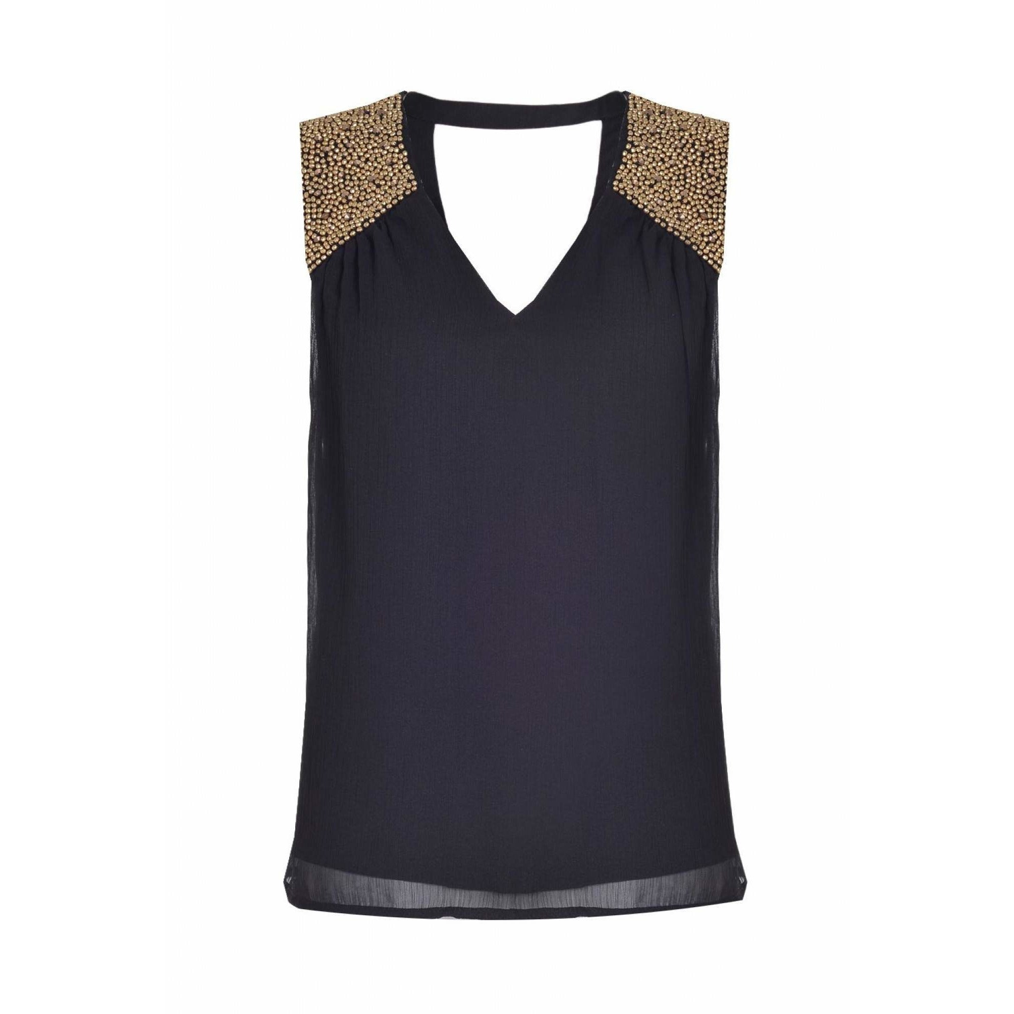 VERO MODA - Chiffon Sleeveless Top