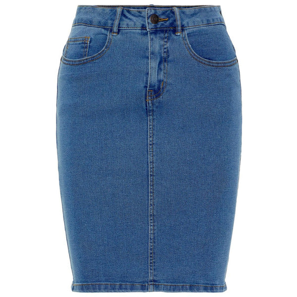 VERO MODA : Hot Nine High Waist Denim Pencil Skirt