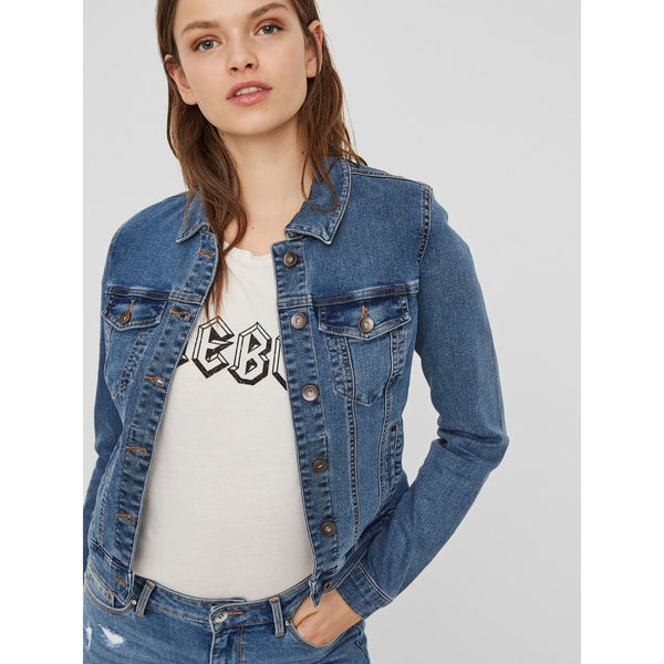 VERO MODA : Short Denim Jacket