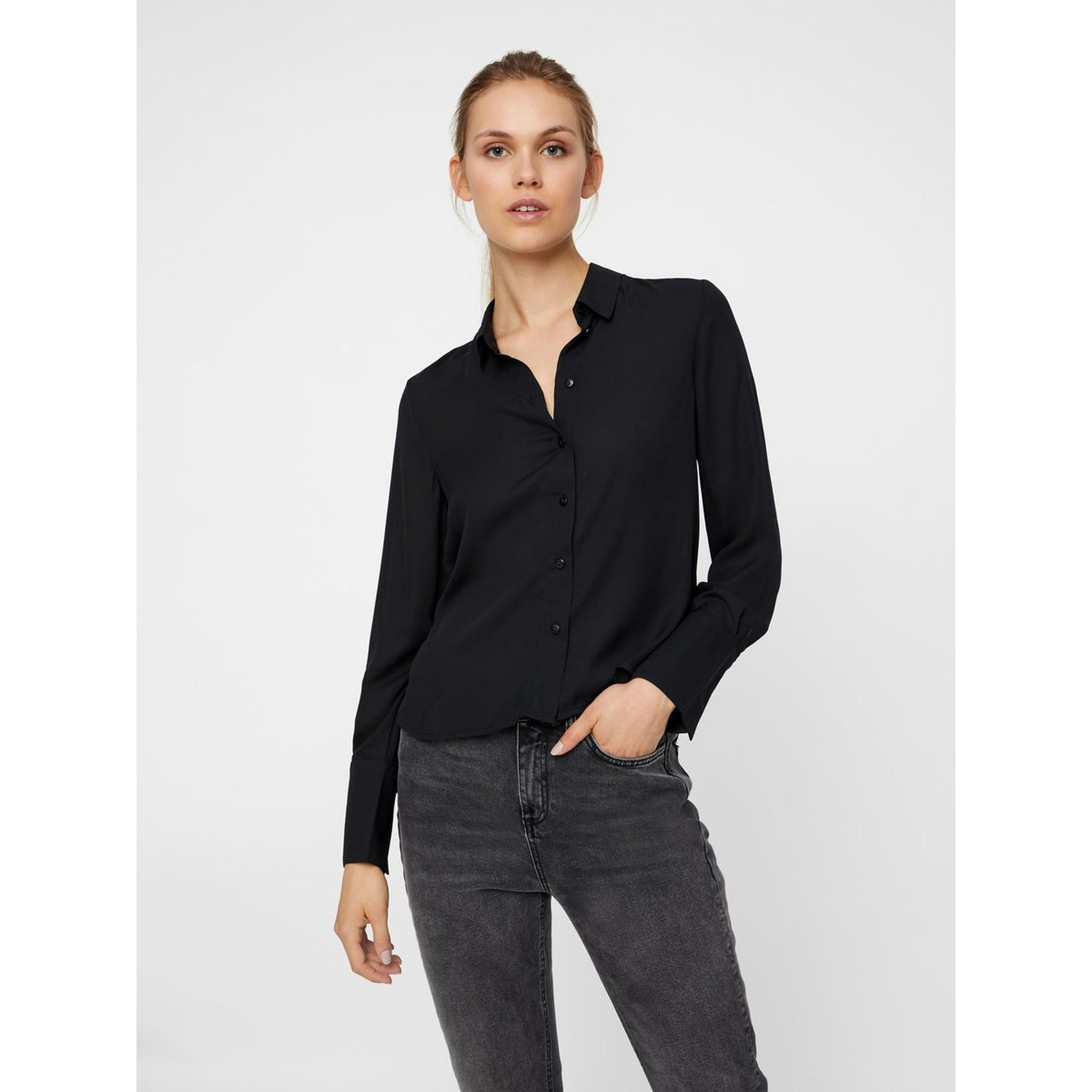 VERO MODA : Birta Long Sleeve Shirt