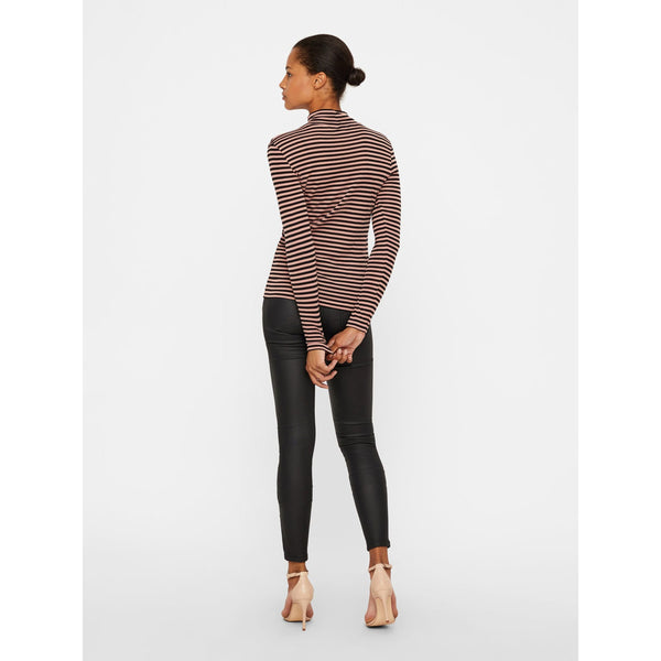 VERO MODA : Long Sleeve Tshirt with Stripes