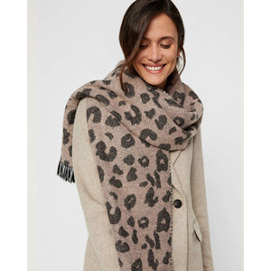 VERO MODA : Animal printed scarf
