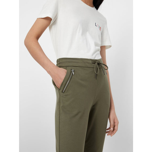 VERO MODA : Regular fit Trousers Green