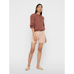 VERO MODA : Flash Chino Shorts Misty Rose