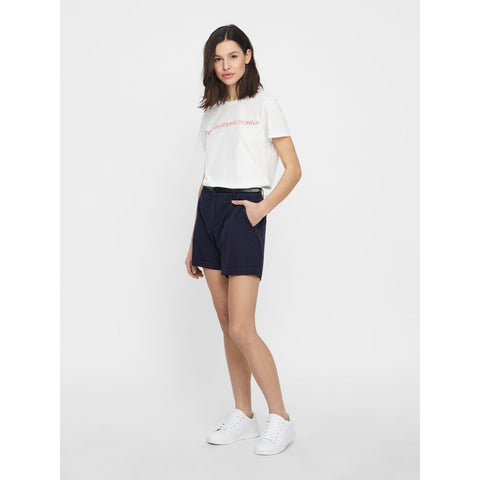 VERO MODA : Flash Chino Shorts Night Sky
