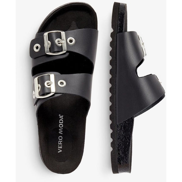 VERO MODA : Leather Sandals