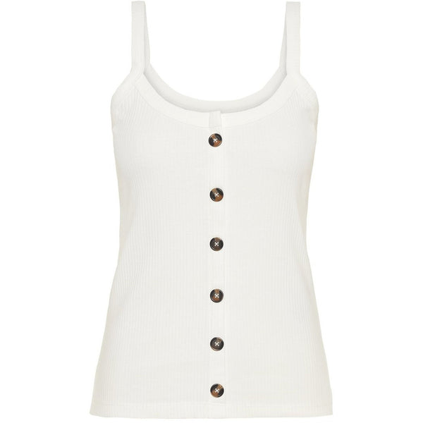 VERO MODA : Ribbed Strap Top Navy