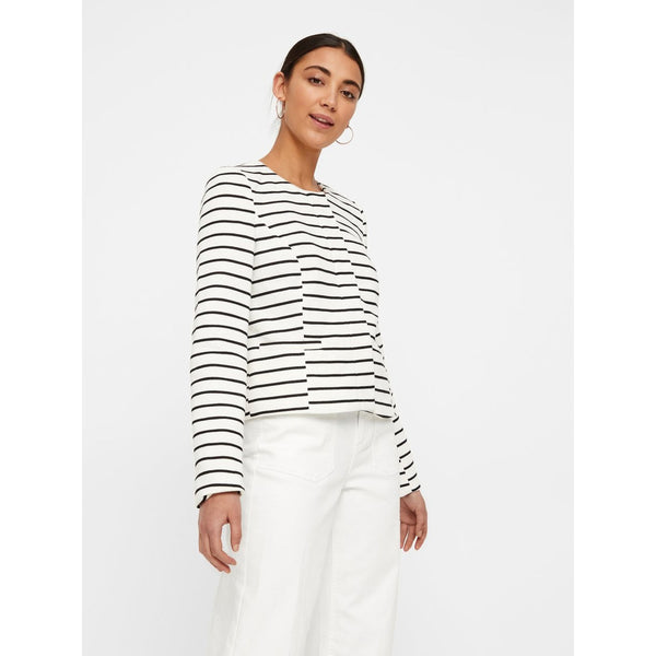 VERO MODA : Verodona Short Striped Jacket