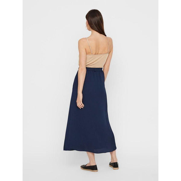 VERO MODA : High Wasted Ankle Skirt