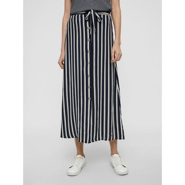 VERO MODA : High Waisted Ankle Skirt,