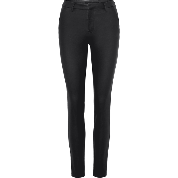 VERO MODA : Normal Waist Coated Trousers