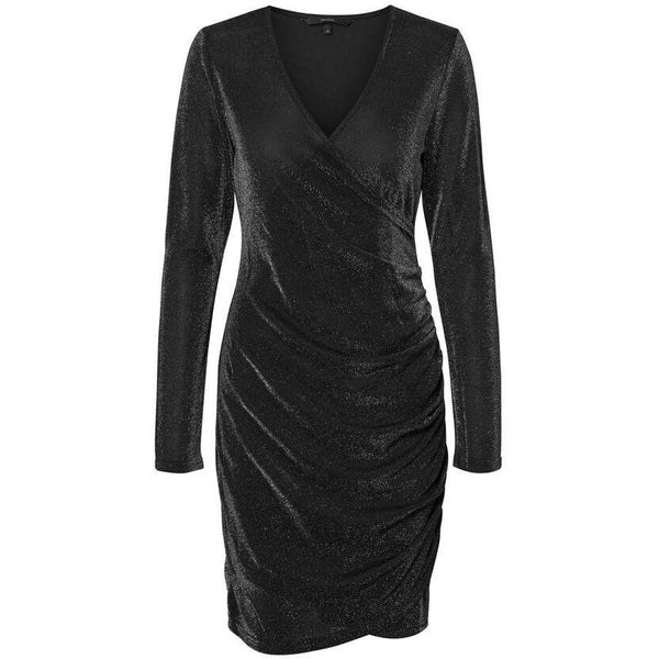 VERO MODA : Bodycon Dress Black