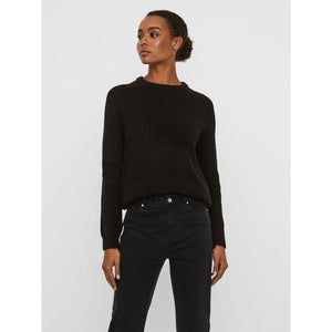 VERO MODA : Ribbed Crew Neck
