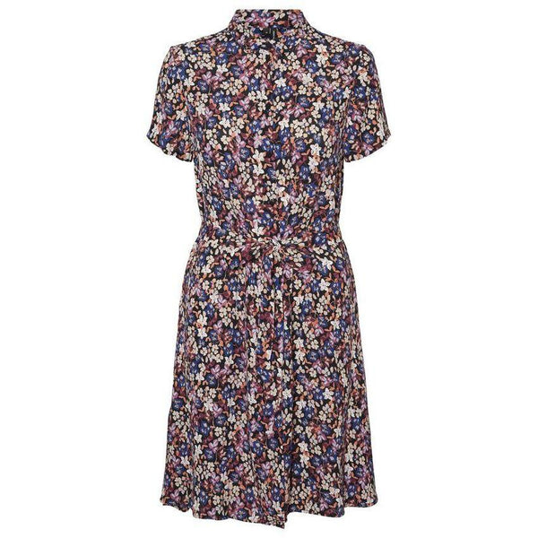 VERO MODA : Tie Shirt Dress