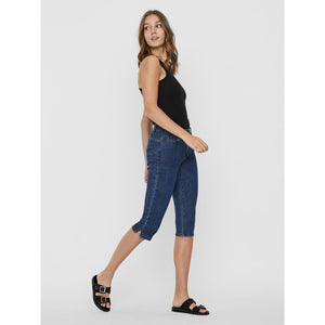 VERO MODA : Seven normal waist slim fit capri
