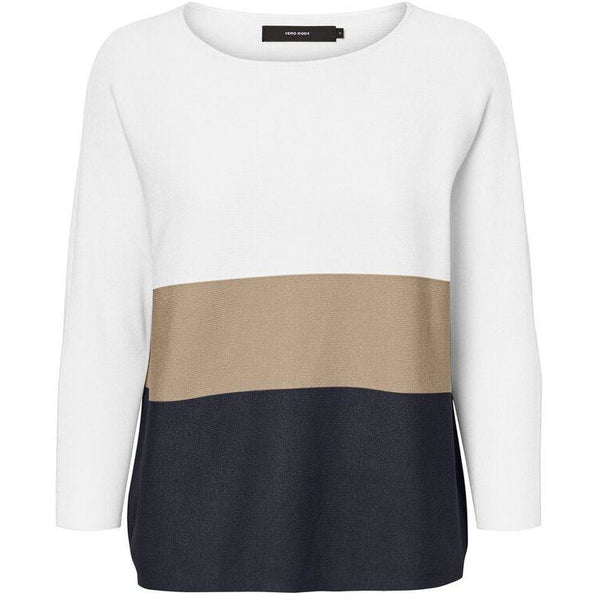 VERO MODA : Striped Knitted Pullover