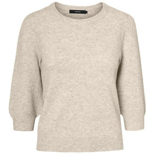 VERO MODA : 3/4 Sleeved Knitted Pullover