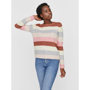 VERO MODA : Stripped Knitted Jumper