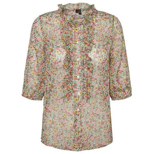 VERO MODA : Printy short sleeve top