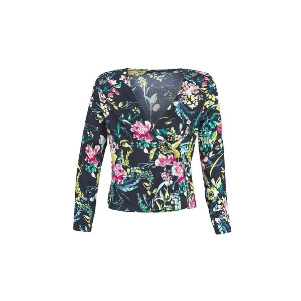 VERO MODA : V Neck Long Sleeve Top