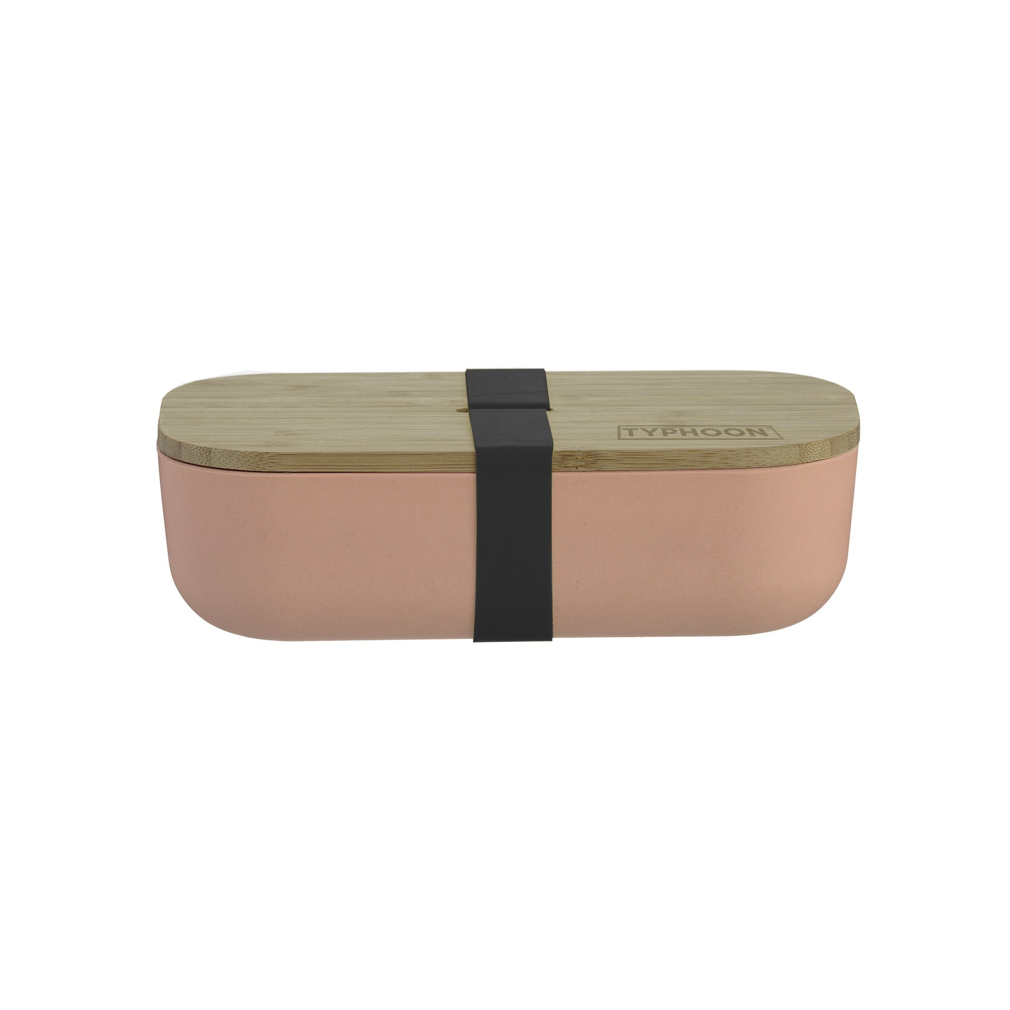 Typhoon : Pink bamboo lunch box
