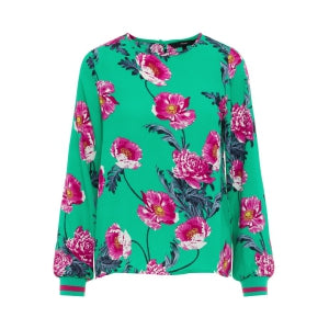 VERO MODA : Floral Long Sleeve Top