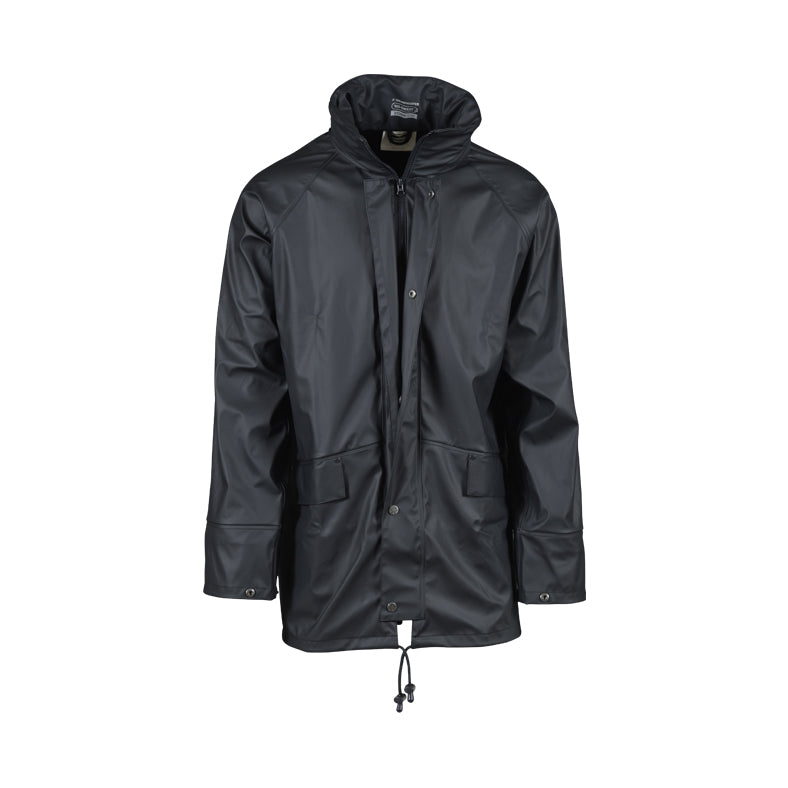 SWAMPMASTER : No-Sweat Stormgear Waterproof Jacket Navy