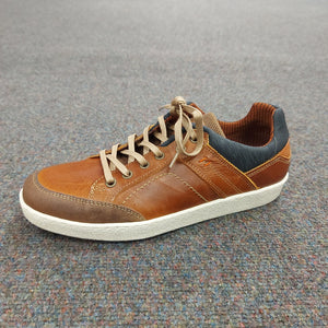 Morgan & Co: Tan Leather Casual Shoe