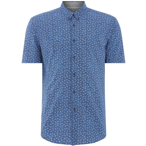 REMUS UOMO : Short Sleeve Casual Shirt