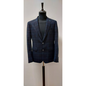 "Remus Uomo Nero Blue Black 40"" Regular"